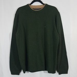 Tommy Hilfiger Green Heavyweight Pullover Sweater